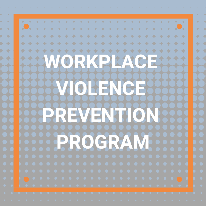 workplace violence programs